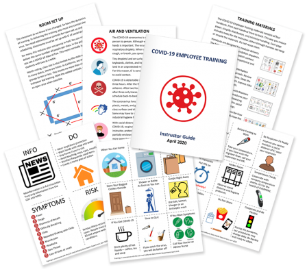 COVID-19 employee training materials and instructor guide